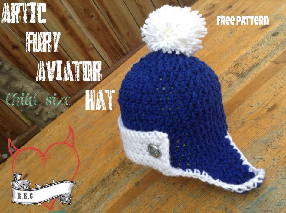 Day 37. Artic Fury Aviator Hat