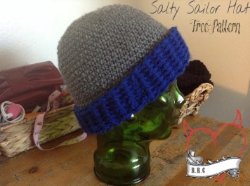 cf7b5c81765 Now I did make it a slouch beanie too. It can be worn both ways if you  really want to!