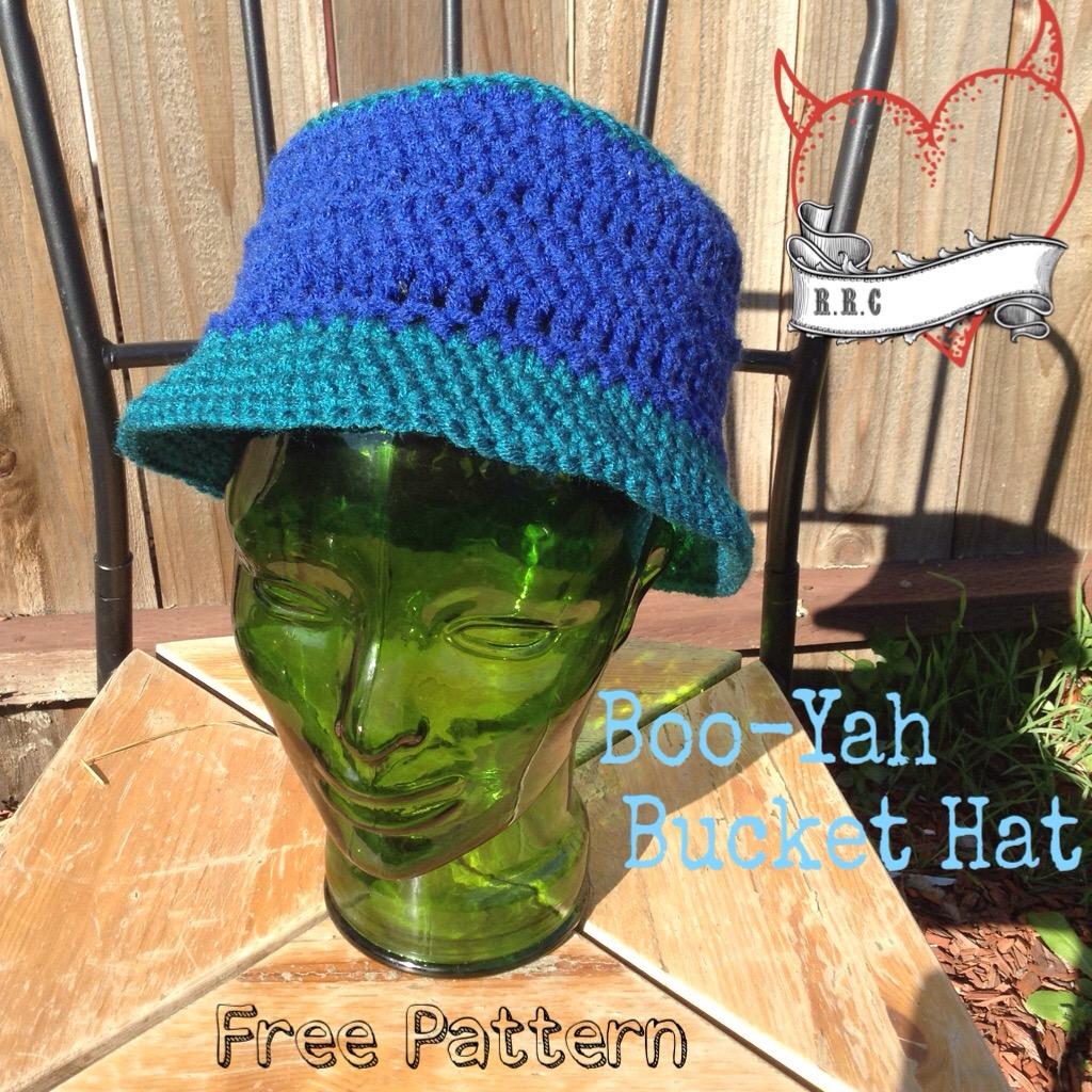 free bucket hat pattern – Raising Robertsons Farts f0e970d34a9